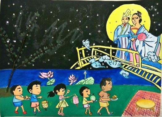 Mid-Autumn Festival - Drawing 02